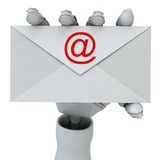 To you the letter! Royalty Free Stock Image