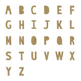 A to Z alphabet2 Royalty Free Stock Photography