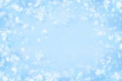 tło zima Obraz Royalty Free