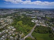 Toa Alta Puerto Rico. Aerial view of Toa Alta Puerto Rico stock photography