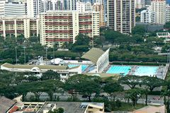 Toa Payoh swimming complex Stock Photos