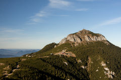 Toaca Peak, Ceahlau Romania Royalty Free Stock Photography