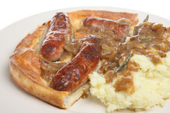 Toad in the Hole Royalty Free Stock Images