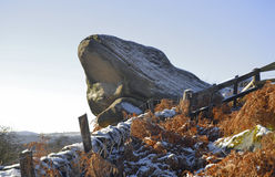 Toads Mouth Rock, Derbyshire Royalty Free Stock Images