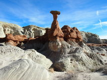 Toadstool Hoodoo, Pariah Rimrocks, Utah Stock Photography