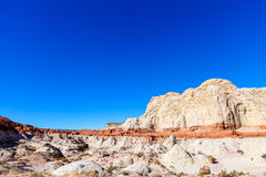 Toadstool Trail in Utah north of Page. Grand Staircase Escalante National Mon. Royalty Free Stock Image