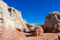 Toadstool Trail in Utah north of Page. Grand Staircase Escalante National Mon. Stock Image