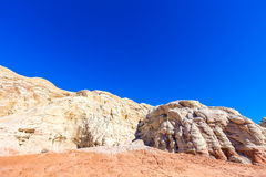 Toadstool Trail in Utah north of Page. Grand Staircase Escalante National Mon. Stock Photos