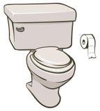 toaleta ilustracji