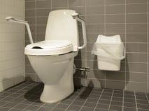 Toaleta dla ludzi z kalectwami Fotografia Stock