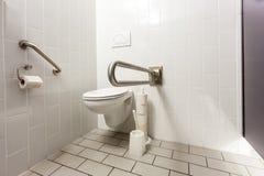 toaleta jest niepełnosprawna Obraz Royalty Free