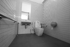 toaleta jest niepełnosprawna Obrazy Stock