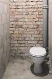 Toaleta podczas odświeżania Zdjęcie Stock