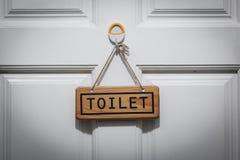Toaleta znak zdjęcia royalty free