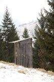 Toalete de madeira Fotos de Stock