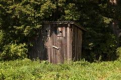 Toalete de madeira Parque Imagens de Stock Royalty Free