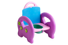 Toalete do bebê potty foto de stock royalty free