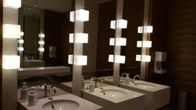 Toalete em preto e branco Fotos de Stock Royalty Free