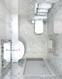 Toalete interior clássico Foto de Stock