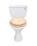 Toalete isolado no branco Imagem de Stock