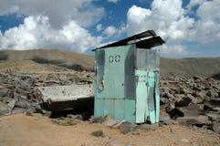 Toalete na montanha Aragats Imagem de Stock Royalty Free