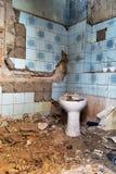 Toalete velho imagens de stock