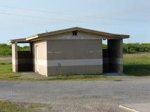 Toaletes em um parque Fotografia de Stock Royalty Free