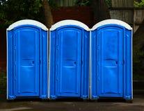 Toaletes públicos Fotografia de Stock Royalty Free