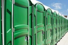 Toaletes portáteis Fotos de Stock