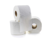 Toaletowa tkanka papieru rolka Obraz Stock