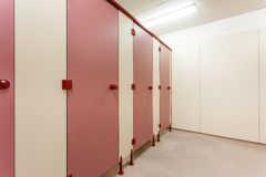 Toaletowi drzwi Zdjęcie Royalty Free