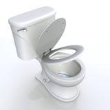Toaletowy siedzenie  Fotografia Royalty Free