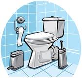 toalett Royaltyfri Fotografi