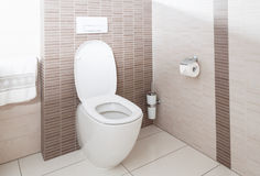 Toalett arkivfoton