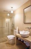 Toalett I n ett hotell Royaltyfri Bild