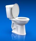 Toalettbunke Royaltyfri Bild