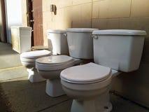toaletter Royaltyfri Fotografi