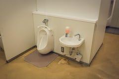 Toalettfaciliteter royaltyfria foton