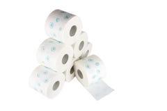 Toalettpapper Arkivfoton