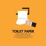 Toalettpapper. Royaltyfri Foto