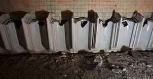 toalettpissoar Royaltyfri Foto