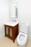 toaletttappning Arkivfoto