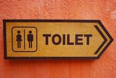 Toaletttecken Arkivbilder