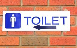 Toaletttecken Royaltyfri Fotografi