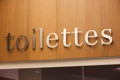 Toaletttecken Royaltyfria Bilder