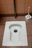 toalettturk Arkivbild