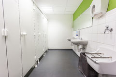 Toalety i skóra Fotografia Stock