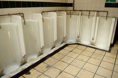toalety publiczne Zdjęcia Royalty Free