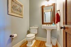 Toalety wnętrze w lekkim brzmieniu Obraz Royalty Free