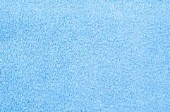 Toalha azul Fotografia de Stock